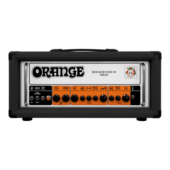 ORANGE Rockerverb50 MKIII 50W Valve Head Black