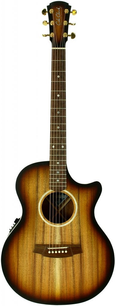 COLE CLARK CCAN2EC-BLBL-SUN All Blackwood Acoustic/Electric Sunburst