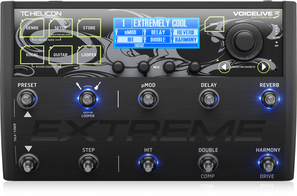 TC HELICON Voicelive 3 Extreme Vocal and Guitar Effects