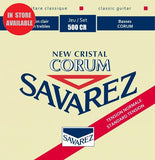 SAVAREZ 500CR New Cristal Corum Normal Tension Classical Guitar Nylon Strings
