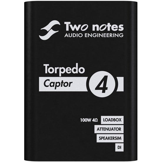 TWO NOTES Torpedo Captor 4ohm