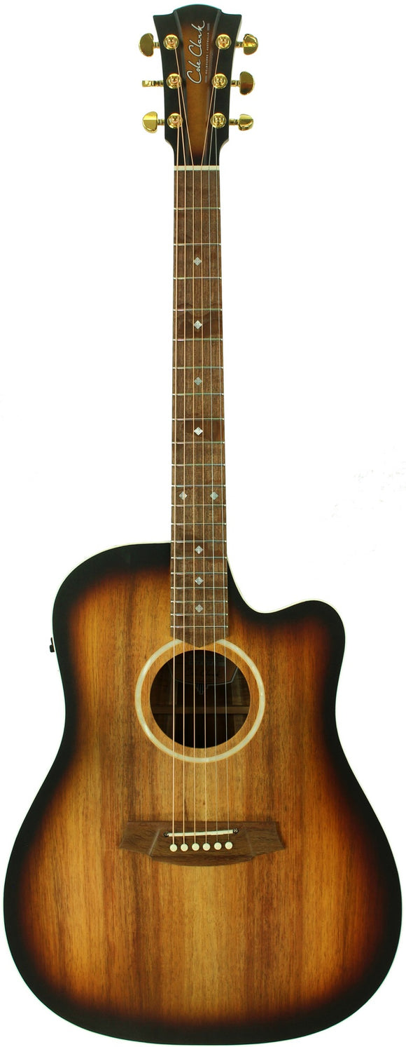 COLE CLARK CCFL2EC-BLBL-SUN All Blackwood Acoustic/Electric Sunburst