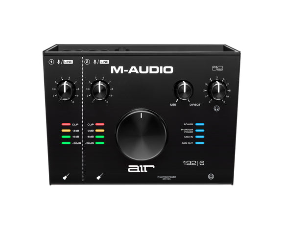 M-AUDIO Air 192 I 6 2-In/2-Out 24/192 USB Audio/MIDI Interface