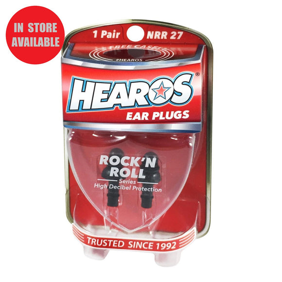 HEAROS Rock 'n Roll Ear Plugs
