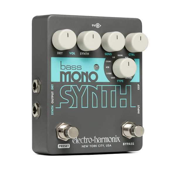 ELECTRO HARMONIX Bass Mono Synth Bass Synthesizer