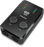 TC HELICON Go Twin High-Definition 2-Channel Audio/MIDI Interface for Mobile Devices