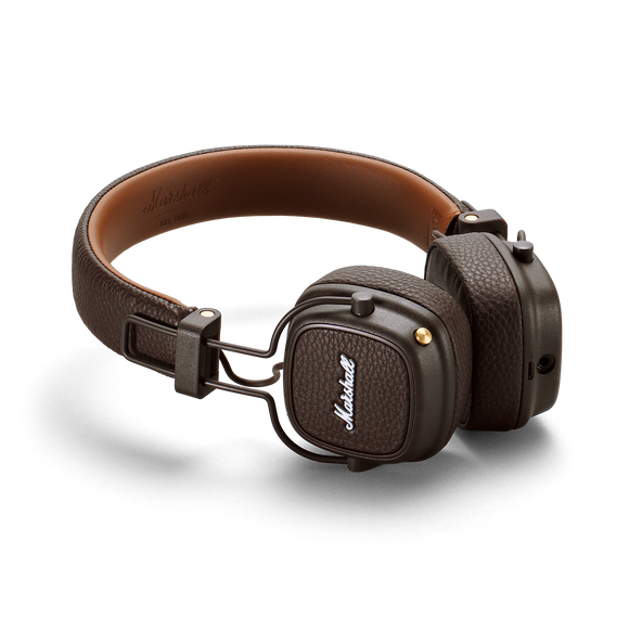 MARSHALL Major Bluetooth On-Ear Headphone Brown