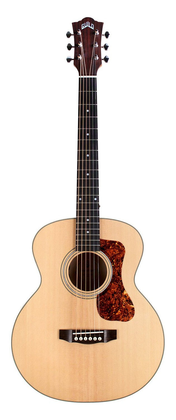 GUILD Jumbo Junior Flamed Maple Travel Size Acoustic/Electric