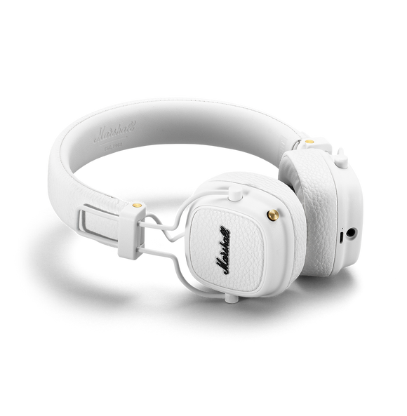 MARSHALL Major Bluetooth On-Ear Headphone White
