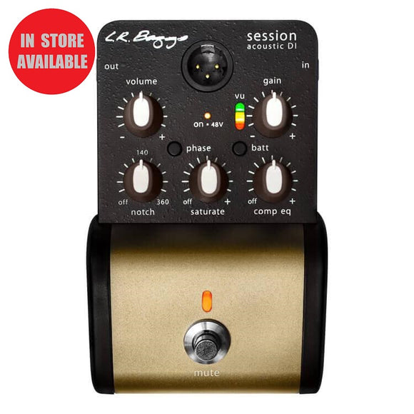 LR BAGGS Session DI Acoustic Guitar Preamp + DI