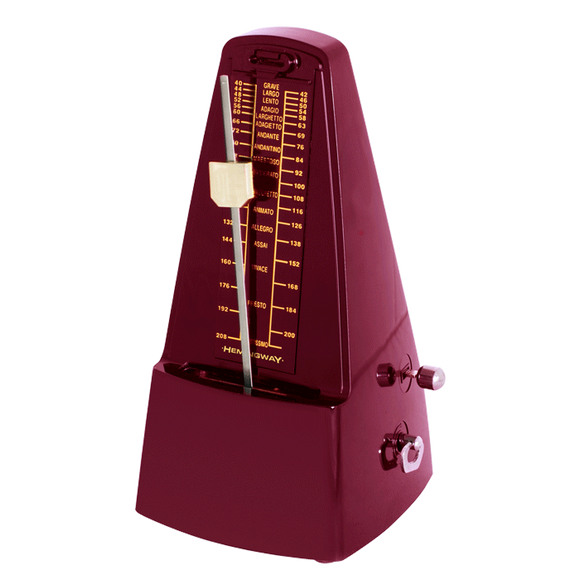 HEMINGWAY WHM01RD Mechanical Metronome Red
