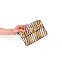 Load image into Gallery viewer, Carlota  Wristlet - Checkers