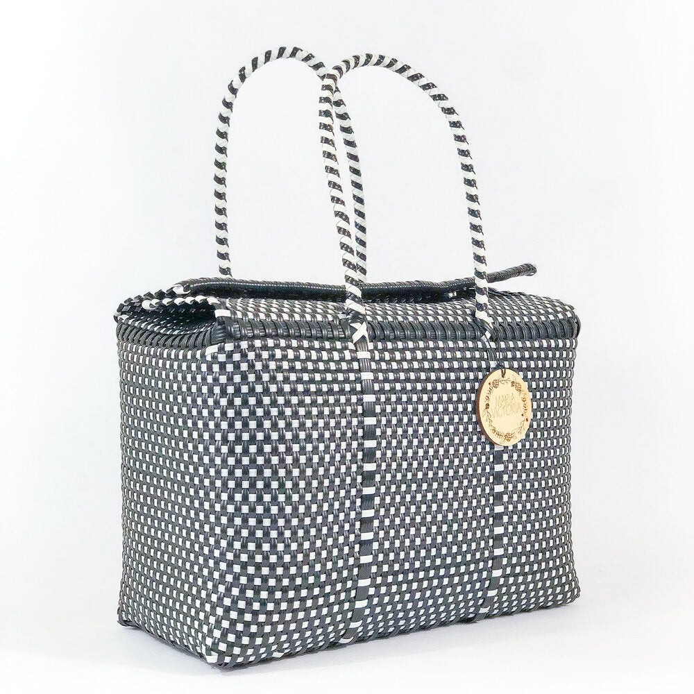 Kahlo Large Basket - Checkers