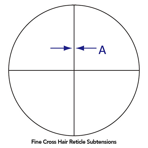 Fine Cross Hair Reticle