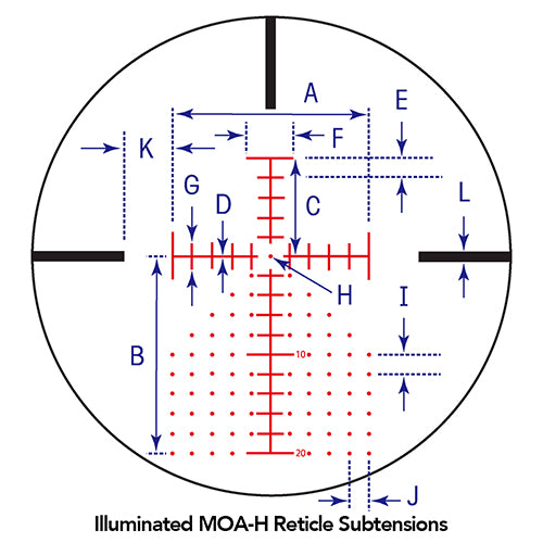 MOA-H IR Reticle