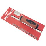 "Frosch Stainless Steel Square Notch Trowel - 1/2"" X 1/2"""
