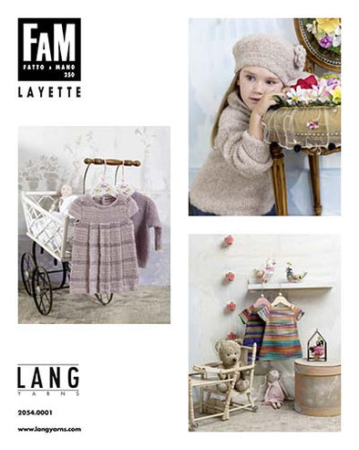 Lang Book 250 - Fatto a Mano - Layette