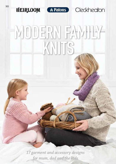 Booklet 363 - Modern Family Knits