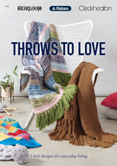Booklet 110 - Throws To Love