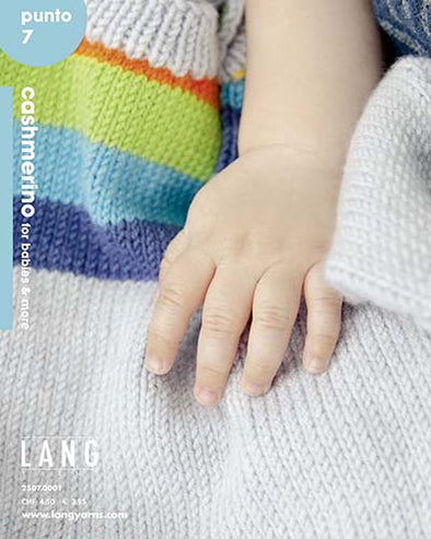 Lang Book - Punto 7 Cashmerino for Babies and More