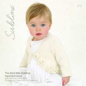 Book 612 - Sublime Cashmere Merino Silk DK 0 - 3 yrs