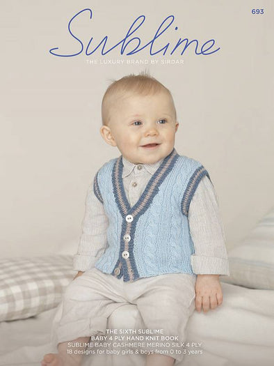 Book 693 - Sublime Baby Cashmere Merino Silk 4 Ply