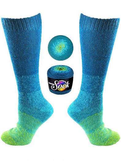 Knitting Fever Painted Sock - 102