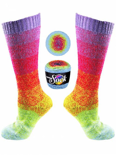 Knitting Fever Painted Sock - 105