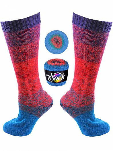 Knitting Fever Painted Sock - 106