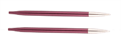 Knit Pro Zing Short Interchangeable Knitting Needles 6.00mm