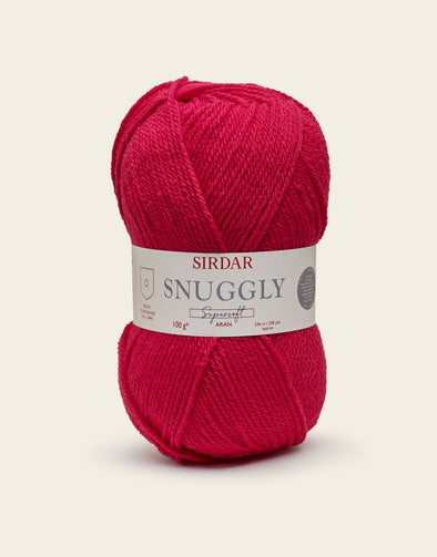 Sirdar Supersoft Aran - 907 Rarin'Red