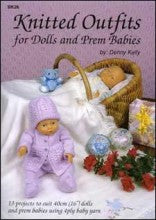 Book BK26 - Knitted Outfits for Dolls & Prem Babies