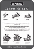 Leaflet LTK - Patons Learn to Knit