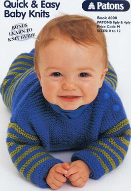 Book 6000 - Patons Quick & Easy Baby Knits