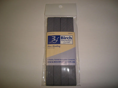 Birch Bias Binding 12 mm - 8034-29 Grey