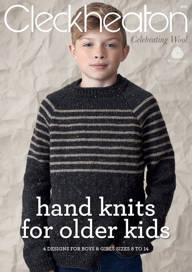Book 3011 - Cleckheaton hand knits for older kids