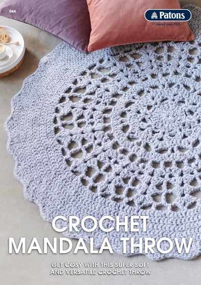 Leaflet 0044 - Patons Crochet Mandala Throw