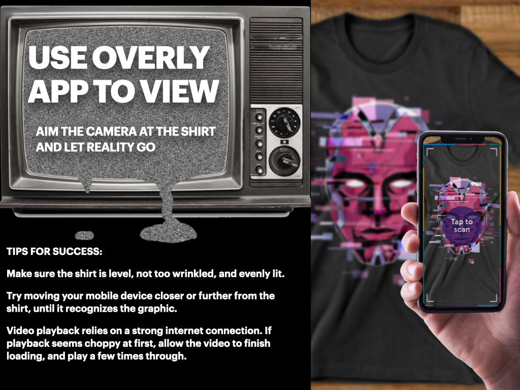 Use overly App to View