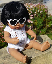 Load image into Gallery viewer, Crochet outfit for Miniland, Minikane and Paola Reina dolls - Siena Set