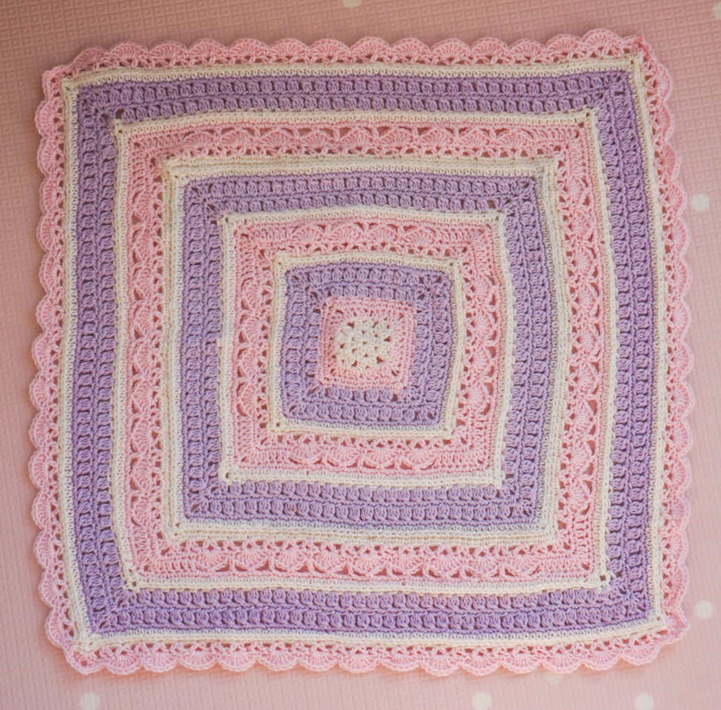 Briar Rose Dolly Blanket