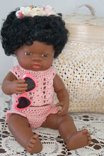 Load image into Gallery viewer, 38cm African Miniland girl Bundle - Grace