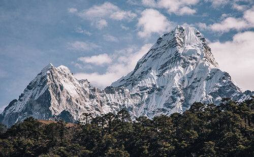 Ama Dablam stands at the head of the Khumbu valley