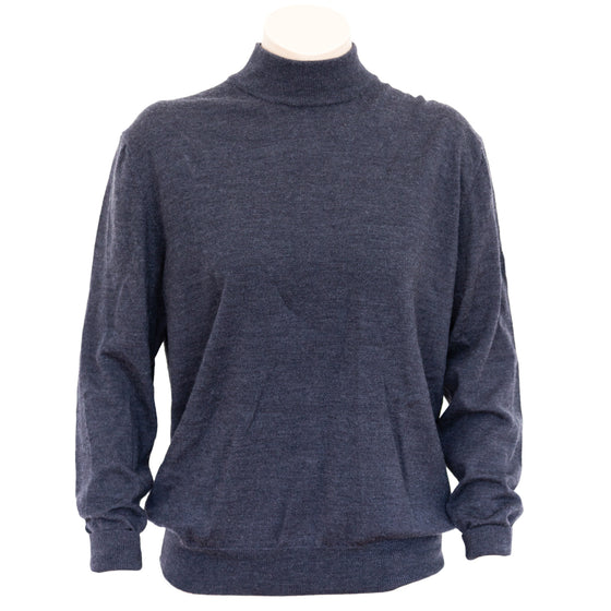 MERINO TURTLE NECK WOMEN'S SWEATER SAMPLE