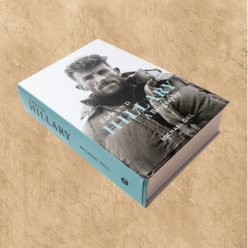 EDMUND HILLARY BIOGRAPHY (SIGNED BY PETER HILLARY)