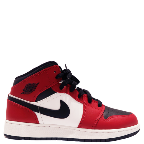 Jordan - Jordan 1 Mid Chicago Black Toe (GS)