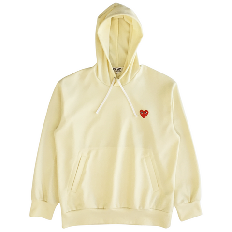 Comme des Garconds - Play Pullover Hoodie