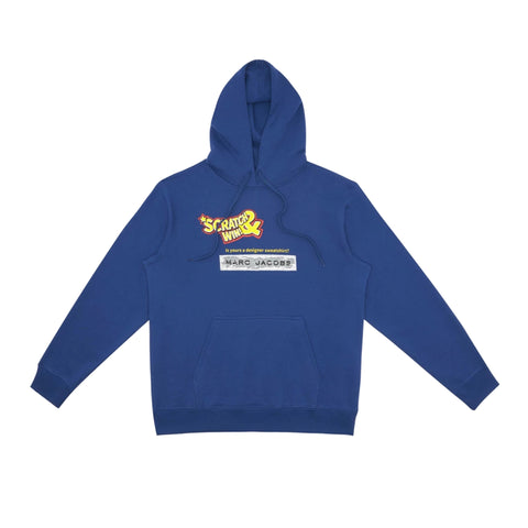 Marc Jacobs x IDEA - Scratch and Win Blue Hoodie