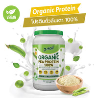 Dmon 100% Organic Pea Protein - 1,000g (31 Servings)