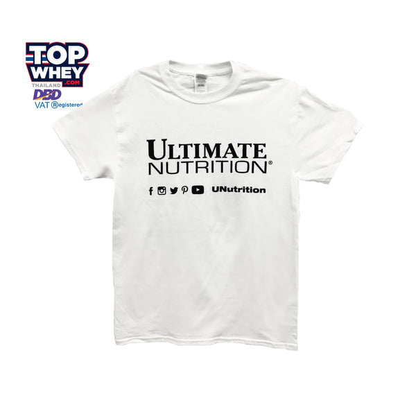 Ultimate Nutrition Logo T-Shirt - White