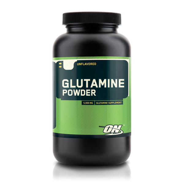 Optimum Nutrition Micronized Glutamine Powder ลดความอ่อนล้า